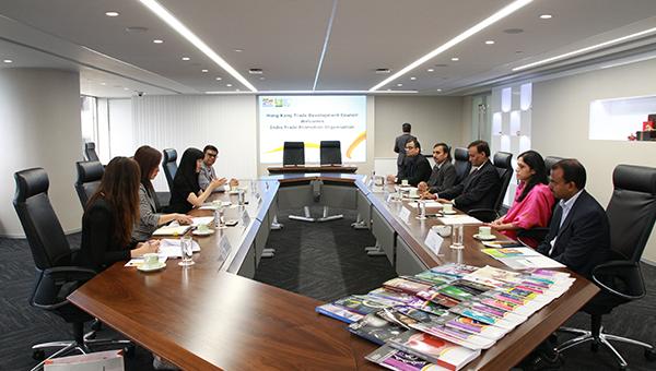 香港贸发局于10月4日于香港与ITPO签署合作备忘录