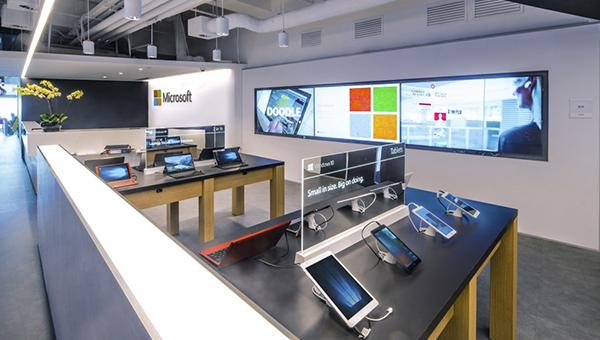 Microsoft全新的办公室和体验中心
