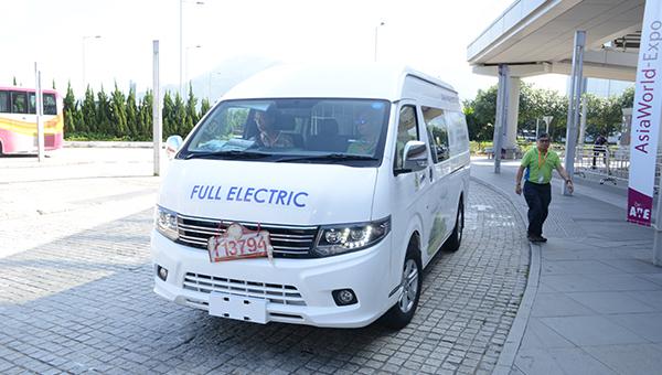 D12南京金龙纯电动商用轻型客货车