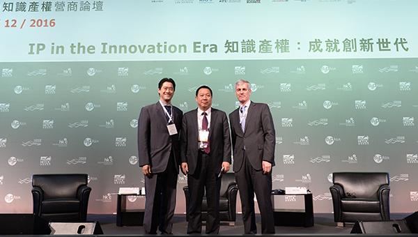 (左起)林明杰、宋柳平及Dr Uwe Over