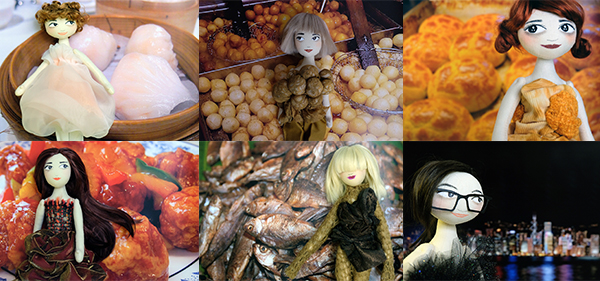 """Ning Lau Doll Exhibition""手制娃娃展览"