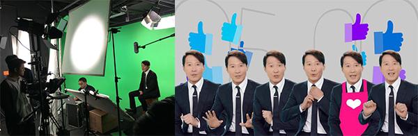 黎明为第13届香港影视娱乐博览拍摄30秒宣传短片