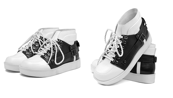 "ete! x YDC ""最佳鞋履设计大奖""限量高筒皮鞋"