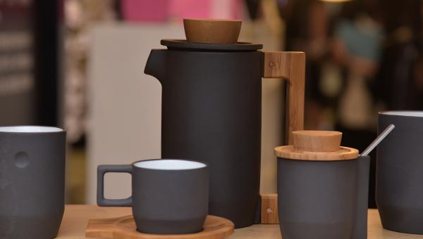紫砂咖啡组合