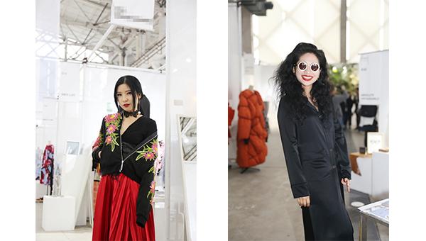 (左图)Vivian Xu和(右图)Toni雌和尚