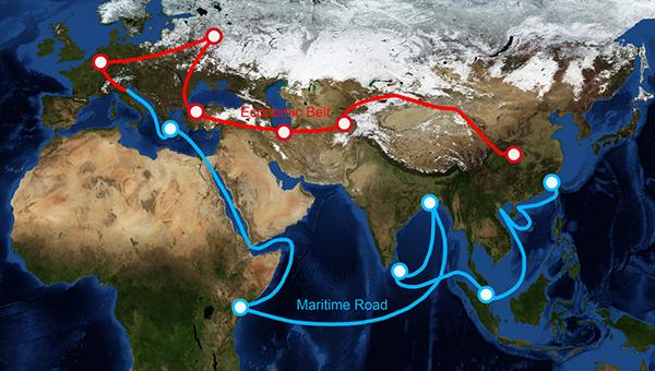 一带一路倡议涵盖超过60个国家