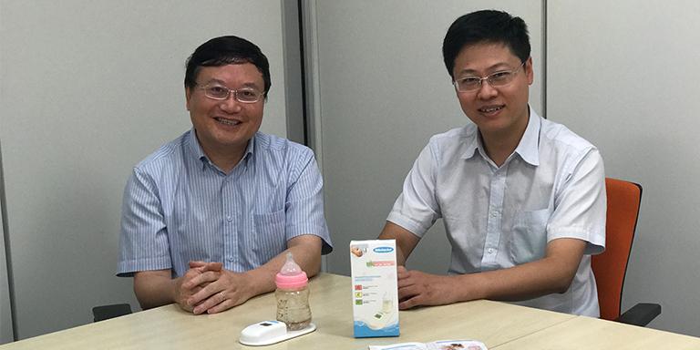 黄新凯(左);陈阵(右)