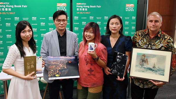(左至右)金铃;蔡耀明;郑帼恩;周轶君及Jason Wordie