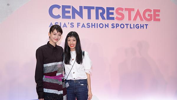 Fiona Lau(右);袁澧林(左)