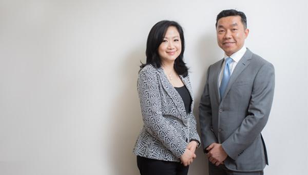 May Chan(左)与Danny Li(右)