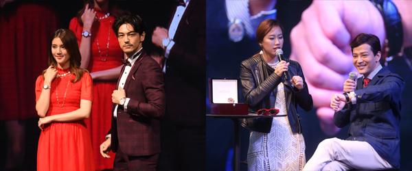 (左图)吴千语、(右图)陈晓东