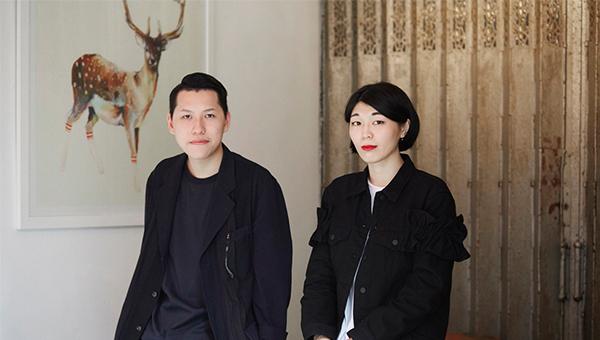 陈景熙(左)和鄞子欣(右)