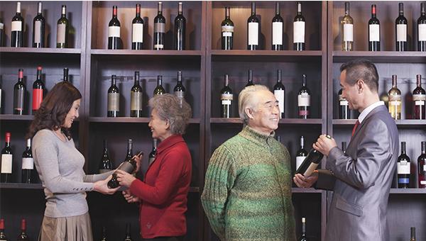 中国葡萄酒销售