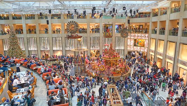 圣诞出口市场