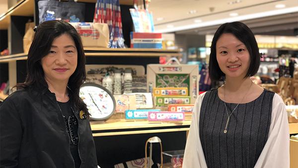萧琬璍和张凯欣