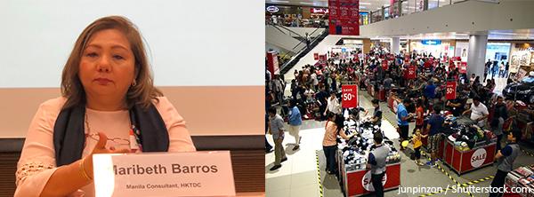 (左图)Maribeth Barros(右图)菲律宾消费