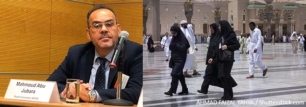 (左图)Mahmoud Abu Jubara(右图)沙地阿拉伯