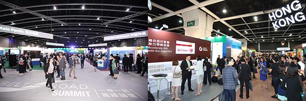 (左图)全球投资机遇专区(右图)香港专区
