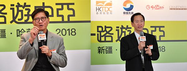 (左)叶泽恩,(右)陈智思