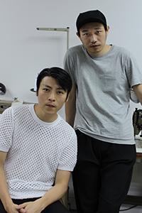 (左)吴震邦(右)黄幸祺