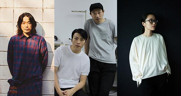 (左起)落合宏理、吴震邦和黄幸祺,以及刘旻