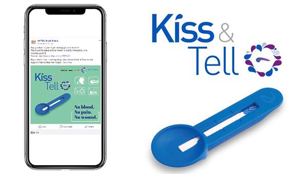 """""""Kiss and Tell""""唾液验测血糖仪"""