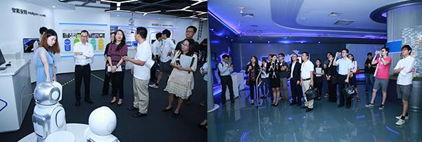 (左)深圳奥比中光科技(右)腾讯总部