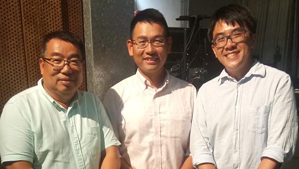 (左起)邓国荣、梁伟星、余兆