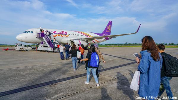 泰国微笑航空