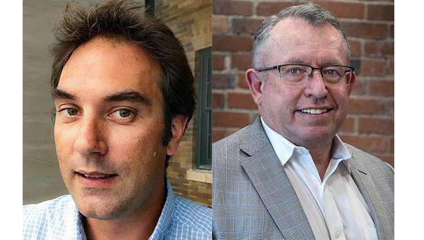 (左起)迪安‧克罗克、塞巴斯蒂安‧根德龙