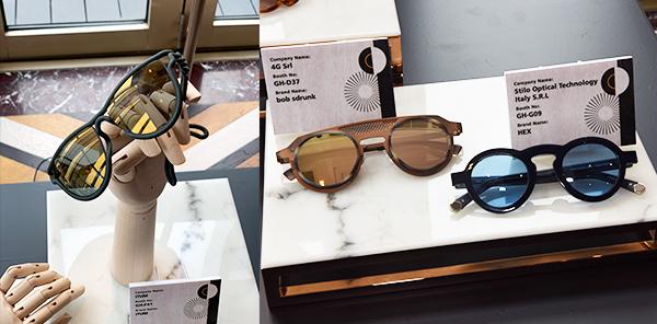 (左图)ITUM眼镜MONO系列(右图)bob sdrunk 及HEX眼镜