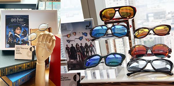 (左图)Savile Row《哈利波特》眼镜 (右图)BIG HORN《正义联盟》眼镜