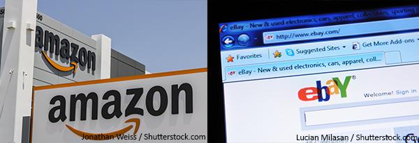 (左)amazon(右)ebay
