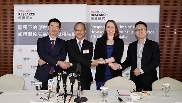 (左起)陈广生、关家明、莎希文、李知行