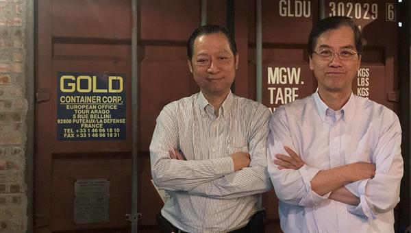 (左)冯祖期(右)黄辅华