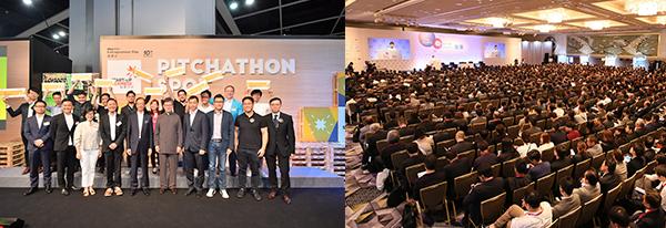 (左图)创业快线(右图)迈向全球  首选香港