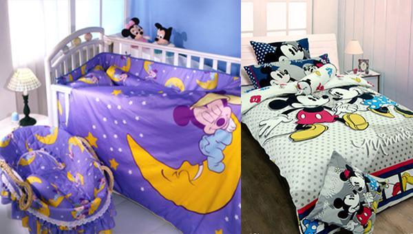 迪士尼授权寝室用品系列