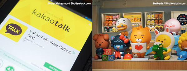 KAKAO Talk & KAKAO Friends