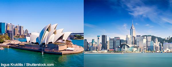 澳大利亚及香港