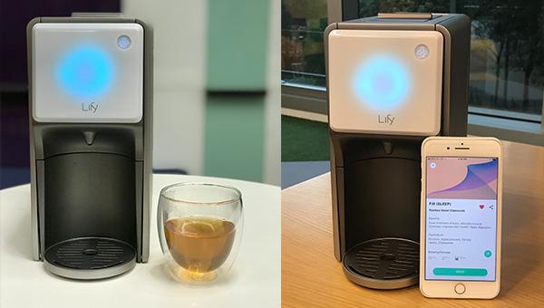 智能茶饮冲泡机Lify