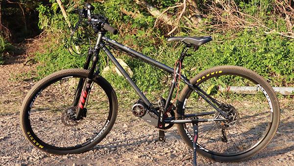 自行车装上CYC X1 Pro引擎