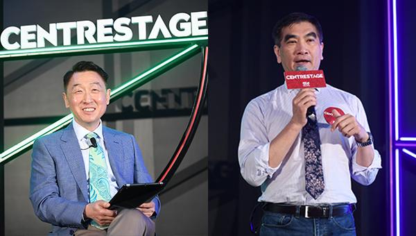 (左图)周启良(右图)钟国斌