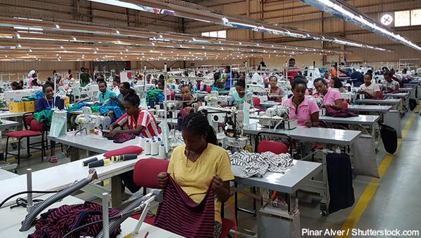 埃塞俄比亚服装业