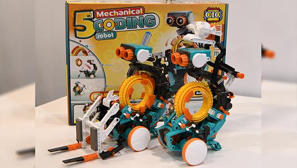 CIC Components 五合一编程机器人