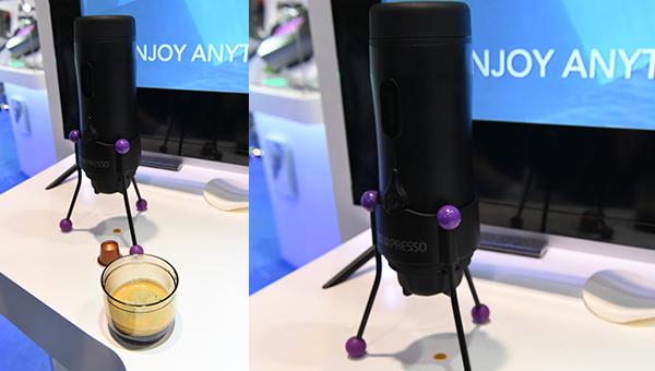 全球首部无线电动加压咖啡机NOWPRESSO