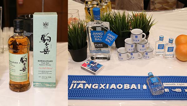 (左图)Mars Single Malt Whisky Komagatake (右图)江小白白酒