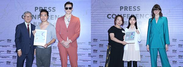 (左图)第21届香港眼镜设计比赛公开组冠军(右图)学生组冠军