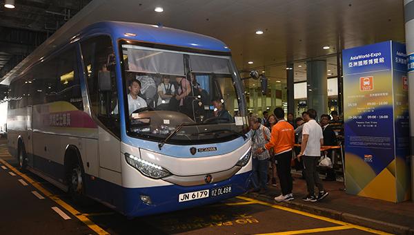 接驳巴士支援服务