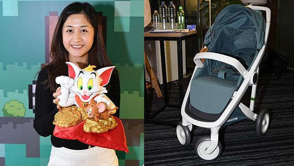 (左图)Tom and Jerry招财猫(右图)Greentom Operations BV婴儿车