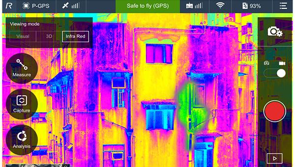 红外线分析楼宇结构